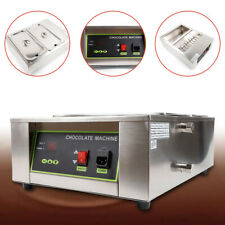 Multifunction 2 Tank Commercial Chocolate Tempering Machine Hot Chocolate Melter