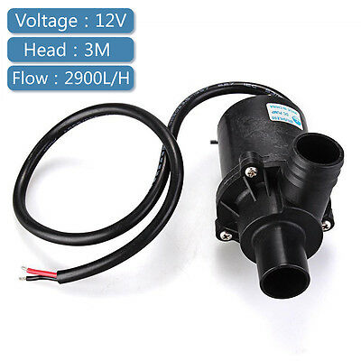 12V DC Submersible Brushless Water Pump for Fountain Pond Aquarium Fish Tank