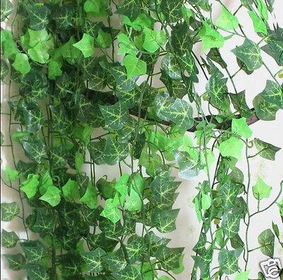 Artificial 7.8ft Fake Foliage Ivy Leaf Garland Plants Vine Home PUB Deco dj103