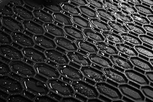 Gummimatten Gummi Fußmatten für Skoda Octavia 2 1Z 2004-2013