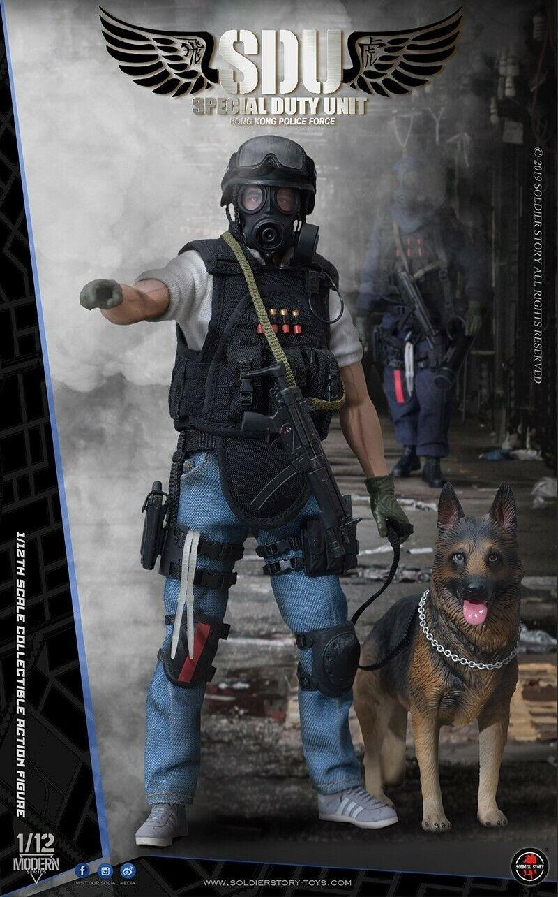 Las ventas en línea ahorran un 70%. Soldier historia 1 12th HK Unión Social Demócrata Canino Handler Handler Handler Coleccionable Figura De Acción De Juguete SSM-003  online barato