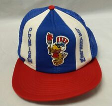 Vintage 1984 Los Angeles Olympics Baseball Cap Trucker Hat Olympic Games USA