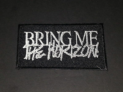 PUNK ROCK METAL MUSIC SEW/IRON ON PATCH:- BRING ME
