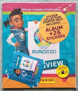 Panini Euro 2020 Preview Starterpack / Album UK