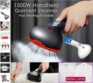 Biddle-Handheld-Garment-Clothes-Steamer-1500W-Steam-Heat-Portable-Travel-Iron