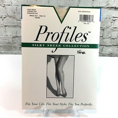 Hanes Pantyhose Full Support Control Silky Sheer sz A-F Alive or Ultra Sheer