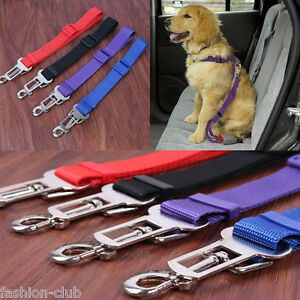 hot auto harness lead seat safety belt seatbelt car vehicle adjustable dog pet ebay. Black Bedroom Furniture Sets. Home Design Ideas
