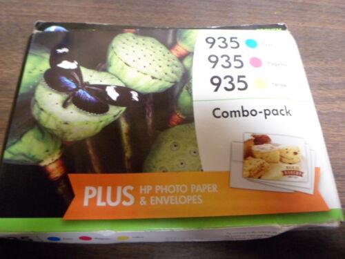 2016 Hp 935 Color Combo Ink Cartridges F6U03FN Genuine OEM