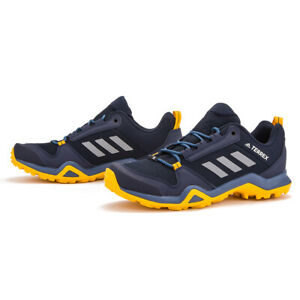 Details about Adidas Mens Terrex AX3 Hiking Walking Shoes Outdoor Ink/Gold G26563 UK 8
