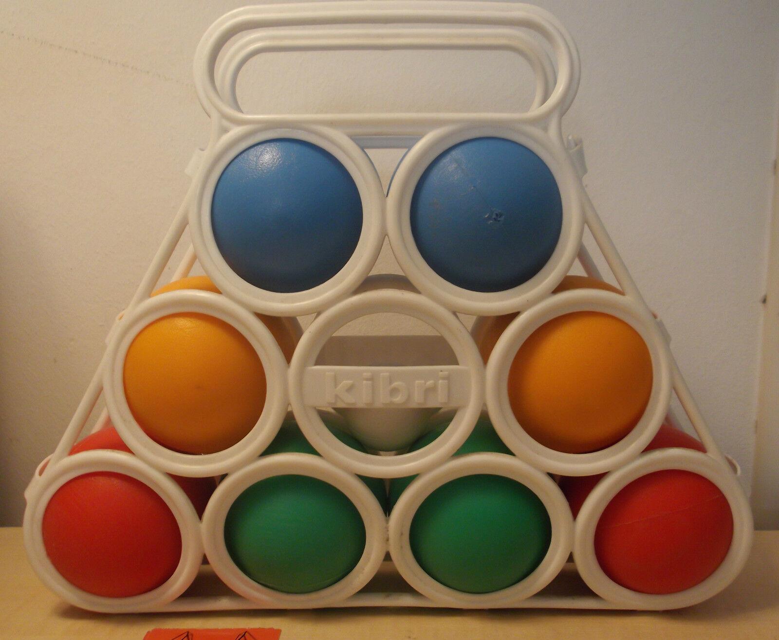 Absolute Rarity  KIBRI bocciaspiel with Small Ball erstklassig