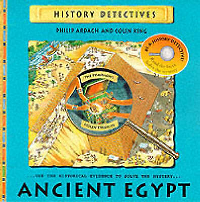 History Detectives: Ancient Egypt, Ardagh, Philip   Paperback Book   Acceptable