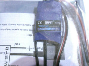Adroit Dys 10 2-4 S Brushless Vitesse Contrôleur Esc Simonk Firmware Avion-afficher Le Titre D'origine Divers Styles
