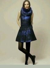 COAST JETT BLUE BLACK SKIRT TOP DRESS SIZE 16 NEW COCKTAIL CRUISE EVENTS 2 IN 1