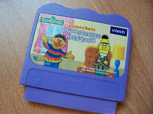 Vtech V-Tech V.SMILE Lern Spiel Ernie & Bert Sesamstrasse Kinder Lernspiel