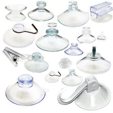 Suction Cups - Any Type - Wide Range - Clear Plastic/Rubber Window Suckers