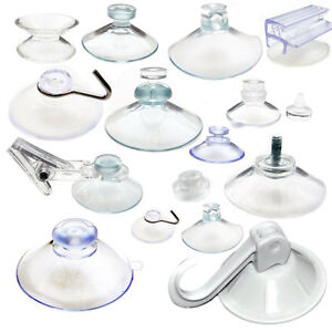 Suction-Cups-Any-Type-Wide-Range-Clear-Plastic-Rubber-Window-Suckers