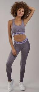 a61432f66f547 Image is loading Gymshark-Flex-Sports-Bra-Purple-Wash-Pastel-Lilac-