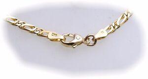 Armband-S-Kette-S-Armband-echt-Gold-585-20-cm-14kt-Gelbgold-Herren-Damen-Neu
