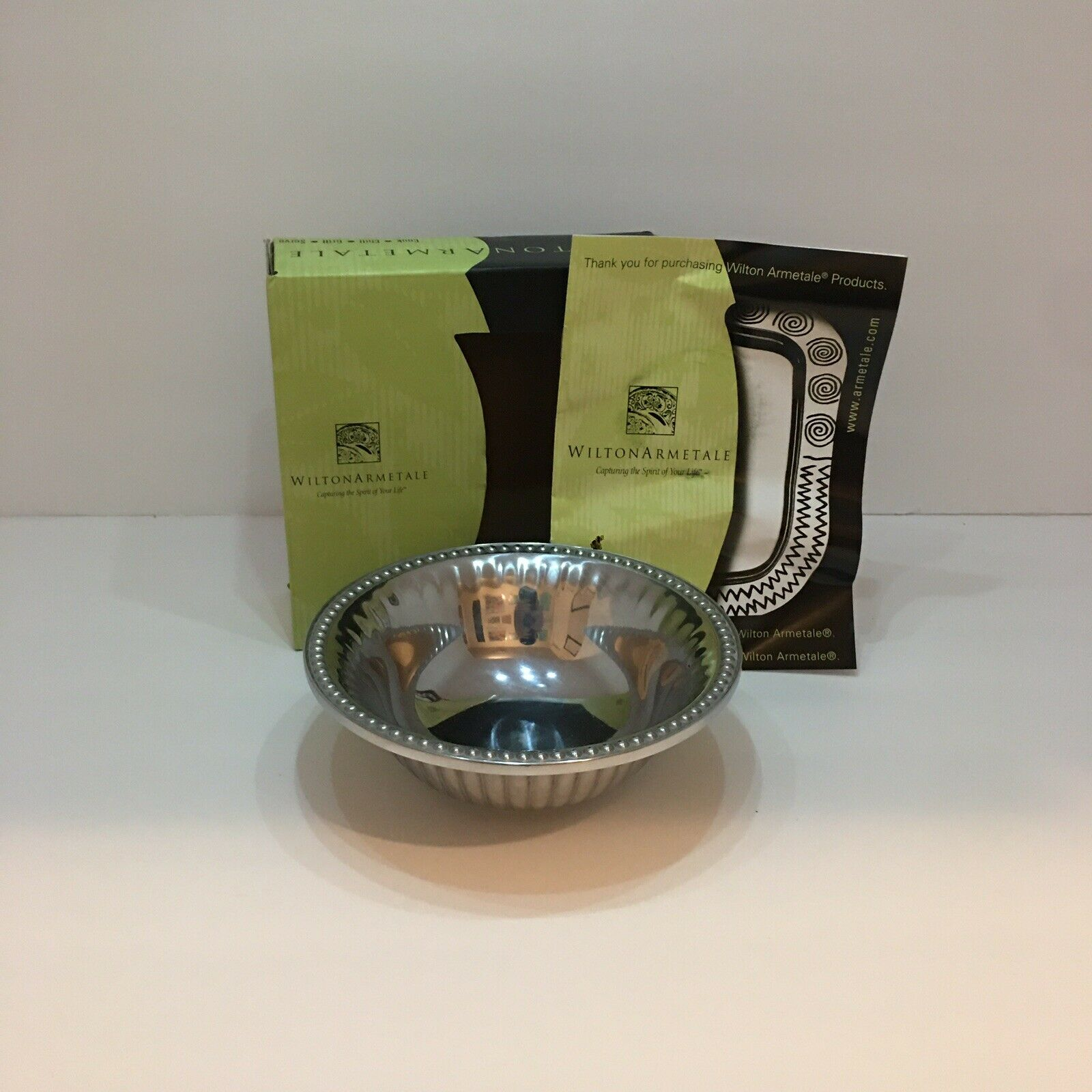 Wilton Armetale Flutes And Pearls 11 Cake Stand For Sale Online Ebay