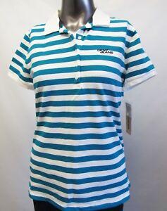 Damen DKNY Grün//Mint NEU aus den USA Größe M Polo Shirt