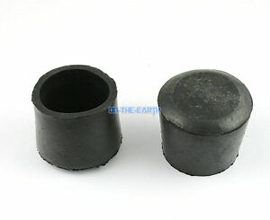 8 Pieces 32mm Round Rubber Furniture Chair Table Leg Cover Floor