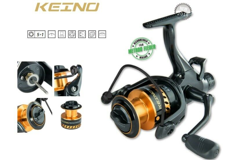 Fishing Mikado Keino Method Feeder Carp Reel Fishing Reel Carp Feeder