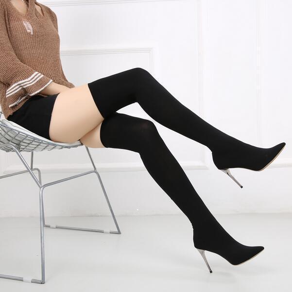 la cuisse plus plus plus sexy slim - chaussures bottes d'équitation e298 a genou 7f2e91