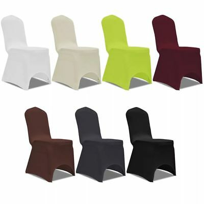 Set 4 pz Coprisedia Vestisedia Fodera per Sedie Elastica Colori Diversi   eBay