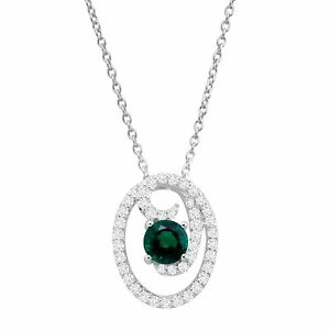 2-3-8-ct-Created-Emerald-amp-Sapphire-Curlicue-Pendant-in-Sterling-Silver