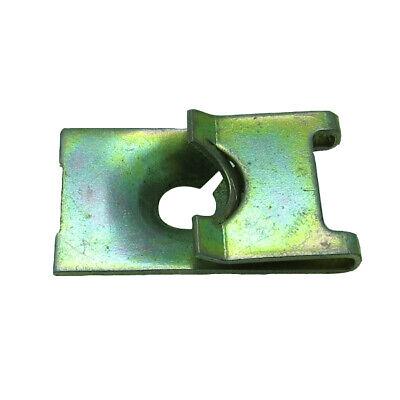 15 J Type Cage Nut 5mm Screw Size Zinc /& Yellow Metal Fastener Clip 24.2*11.5mm