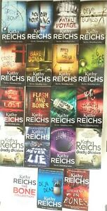 Kathy-Reichs-Temperance-Brennan-Series-Collection-19-Books-Set-Pack-NEW
