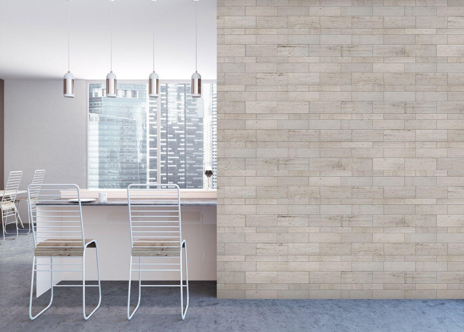 3D Retro Grey Wall 3 Texture Tiles Marble Wall Paper Decal Wallpaper Mural AJ UK