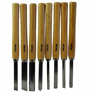 8pc-Wood-Carving-Turning-Chisels-Woodworking-Lathe-Carpentry-Gouge-Skew