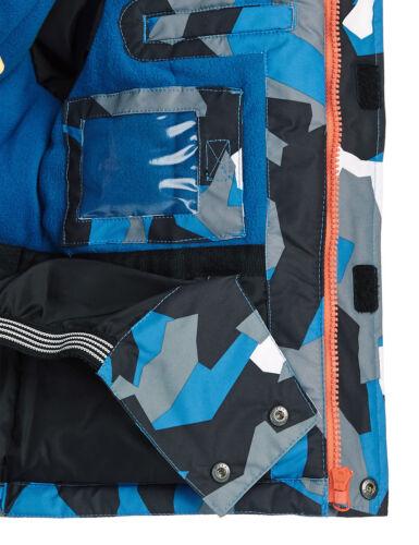 M/&S Thinsulate ™ ski montagna Stampa Con Cappuccio Foderato in Pile Cappotto Invernale Per Ragazzi