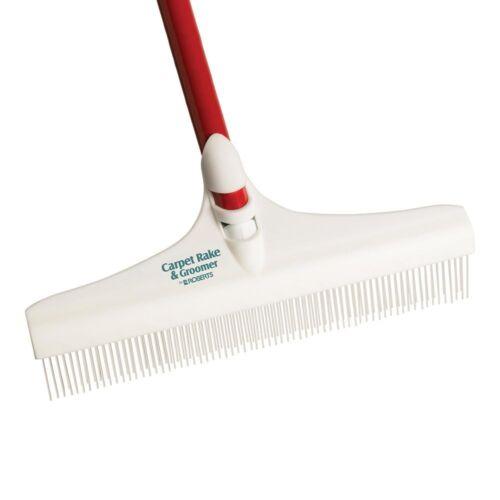 Carpet Groomer Rake Rug Grooming Sweeper Loosen Soil Pet Hair Matted Maintenance