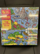 3 Pack New Version Magic Puzzles 3-Pack: The Happy Isles The Mystic Maze 1000 Piece Jigsaw Puzzles from The Magic Puzzle Company /& The Sunny City