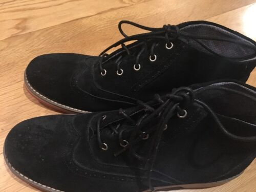 Semelle Homme ciré Boots 9 Wolverine Chukka Paxton Nwob Noir Rouge Suede Anle 5 tfTOqRw