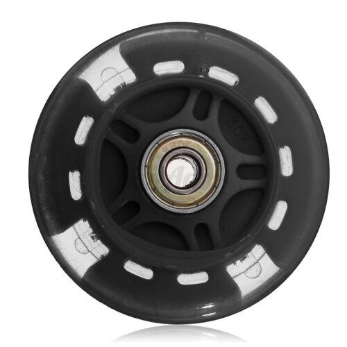 80-120mm LED Blinkende Rad Mini Oder Maxi Scooter Hinten ABEC-7 Lauflager UK
