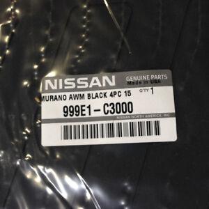 Genuine Oem Nissan 999e1 C3000 All Season Rubber Floor