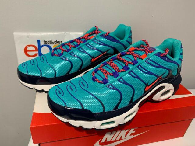 best website 07e15 8334e Nike Air Max Plus TN Tuned Discover Your Air Hyper Jade Blue AV7940-300 Men  8-13