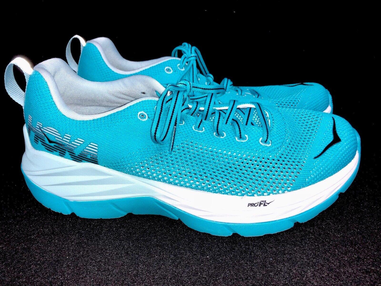 Hoka Hoka Hoka One One Mach Women's Running Tennis shoes blueebird   White Athletic 1e34d8