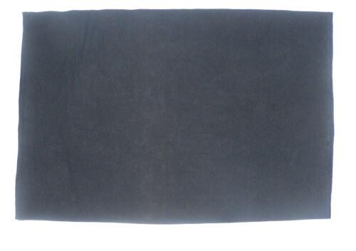 Noir 1,5 mètre de large boucle velcro en nylon tissé polaire feutre tissu.
