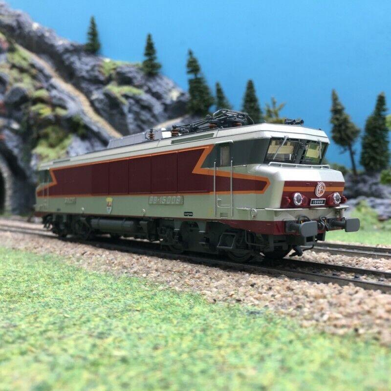 Locomotive BB15008 TEE Strasbourg SNCF Ep IVHO 187LSmodelloS 10487