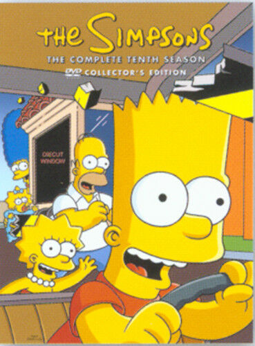 1 of 1 - The Simpsons: Complete Season 10 DVD (2007) Matt Groening