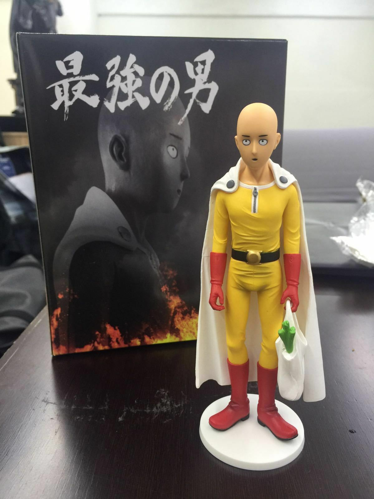One Punch Man Saitama PVC Statue New