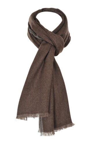 Agnona 100/% Cashmere Scarf  Dark-brown Cashmere   192 cm x 52 cm