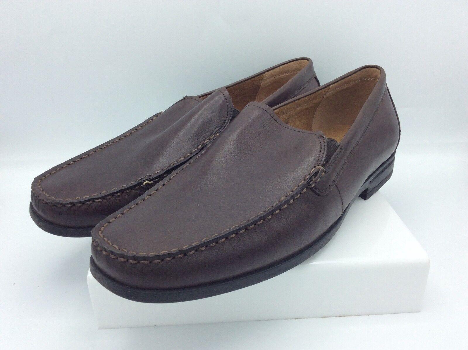 Nunn Bush Men's Glenwood Slip-On Loafer, Brown, Mens 12 W
