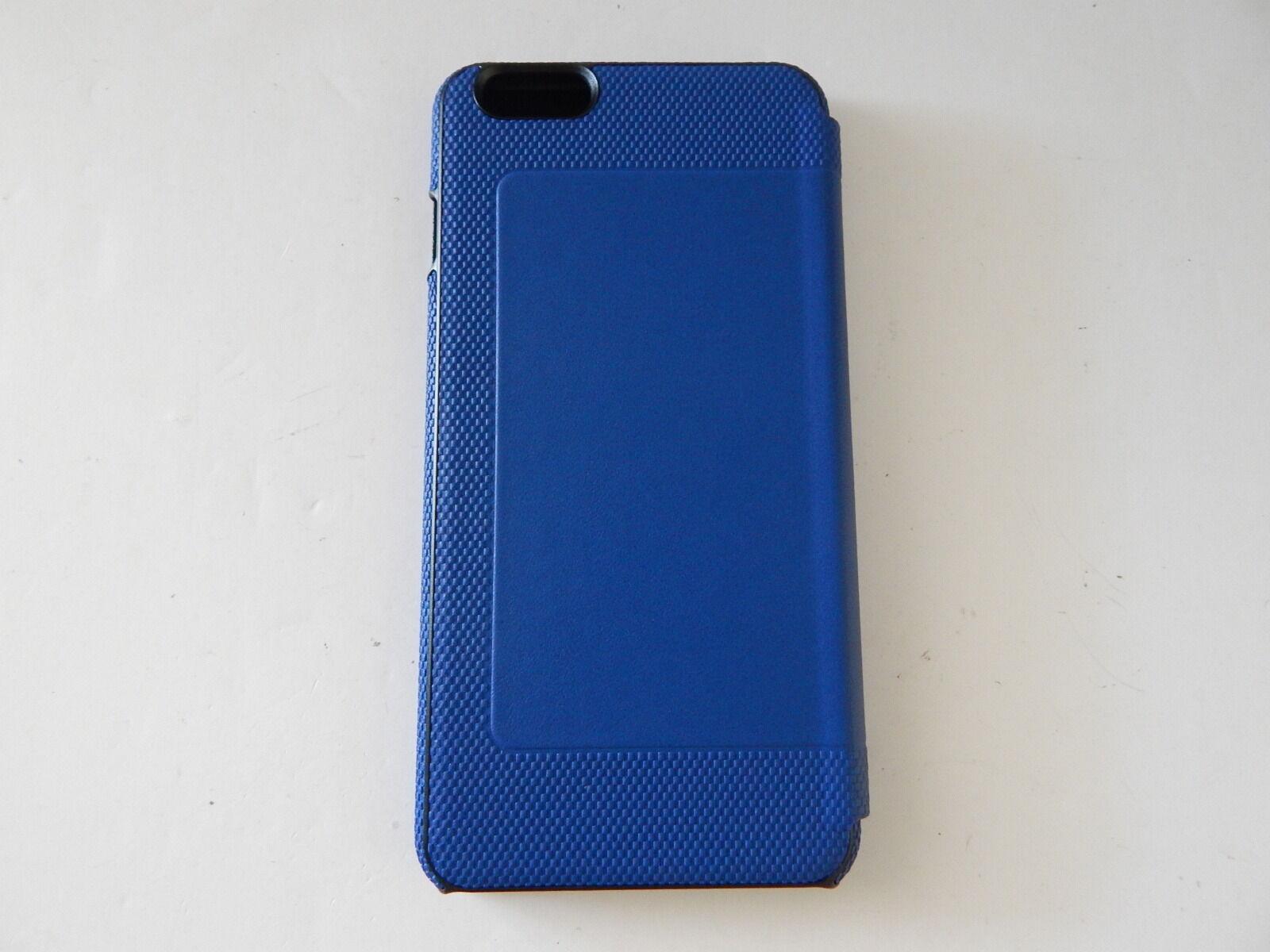 official photos 6b773 ccd53 Tumi Leather Folio Case Blue iPhone 6s 6 Plus