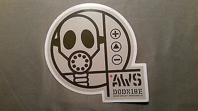 "New Alien Workshop ""DODX"" Sticker Decal"