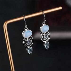 pierre-boucles-d-039-oreilles-peridot-pierre-de-multiples-034-topaz-034-oreille-etalon